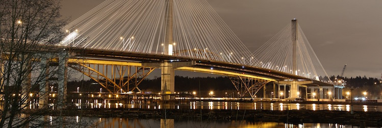 Port Mann Bridge, Port Coquitlam