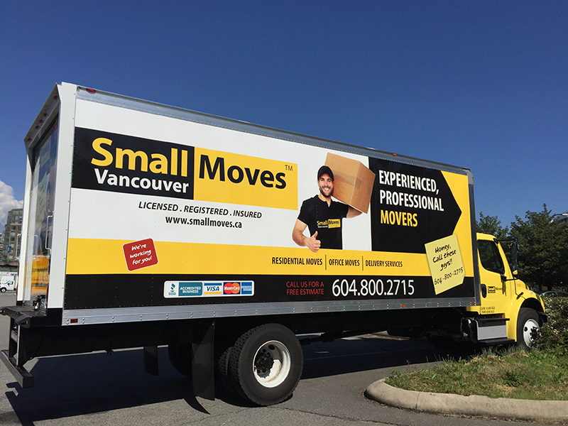Small Moves New 5 Ton Truck - Side View